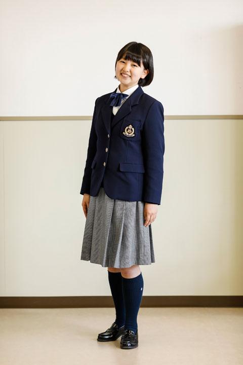 女子高等学校制服 平成24年度入学生から新しい制服に変わります!   鹿児島県立 ...